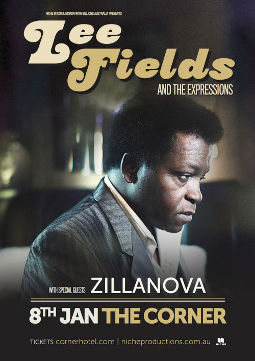 Lee Fields Melbourne_eflier